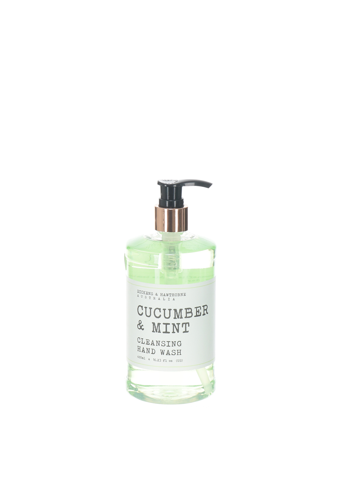 Dickens & Hawthorne Cucumber & Mint Cleansing Hand Wash, 480ml