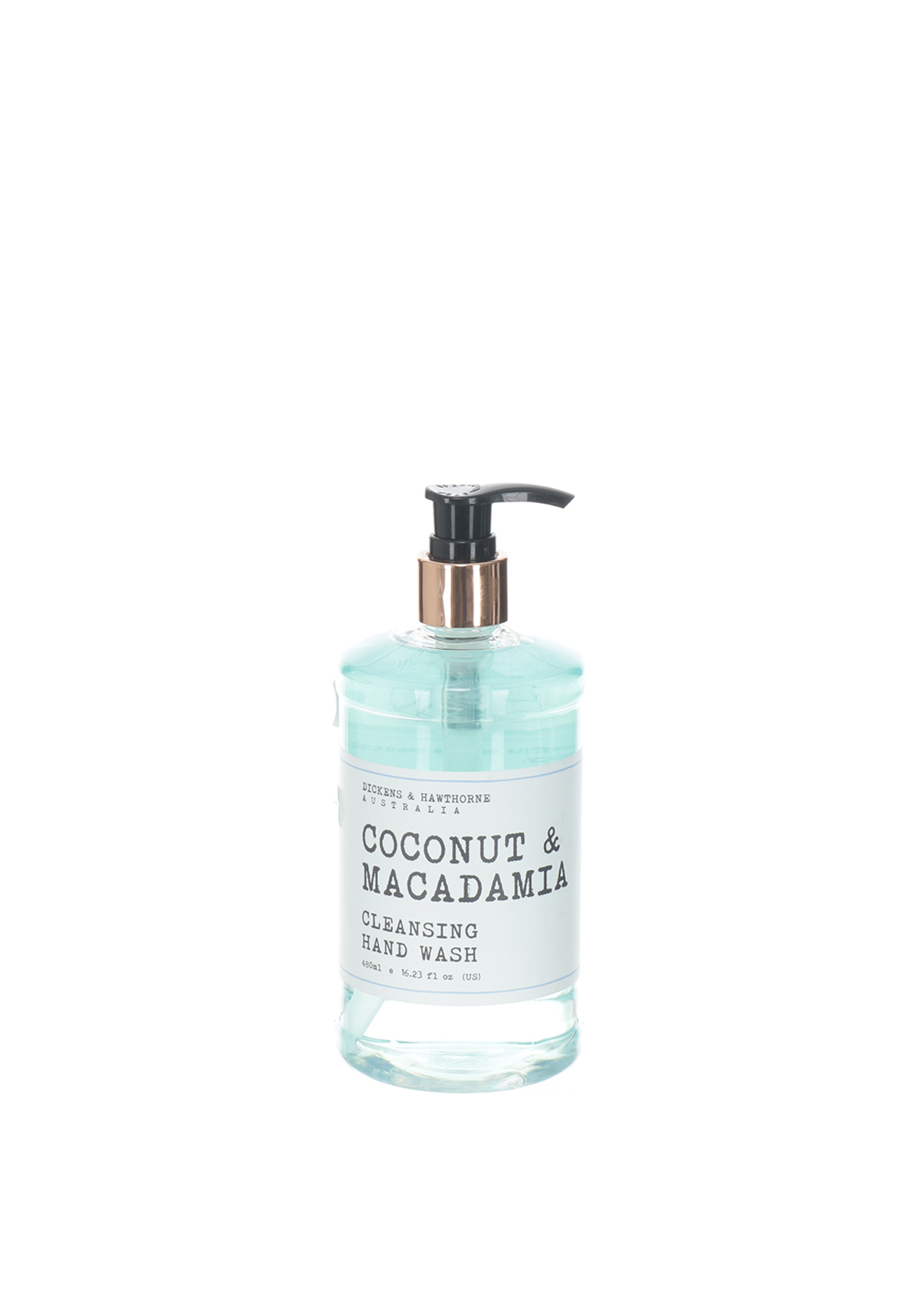 Dickens & Hawthorne Coconut & Macadamia Cleansing Hand Wash, 480ml