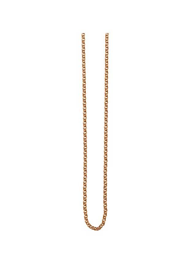 Dyrberg Kern Womens Charida Necklace, Rose Gold