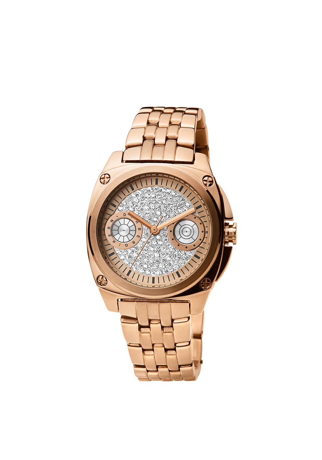 Dyrberg Kern Majesty SMC Watch, Rose Gold
