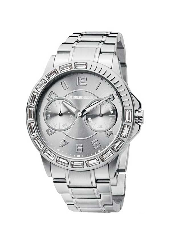 Dyrberg Kern Womens Luxuria SMC Watch, Silver