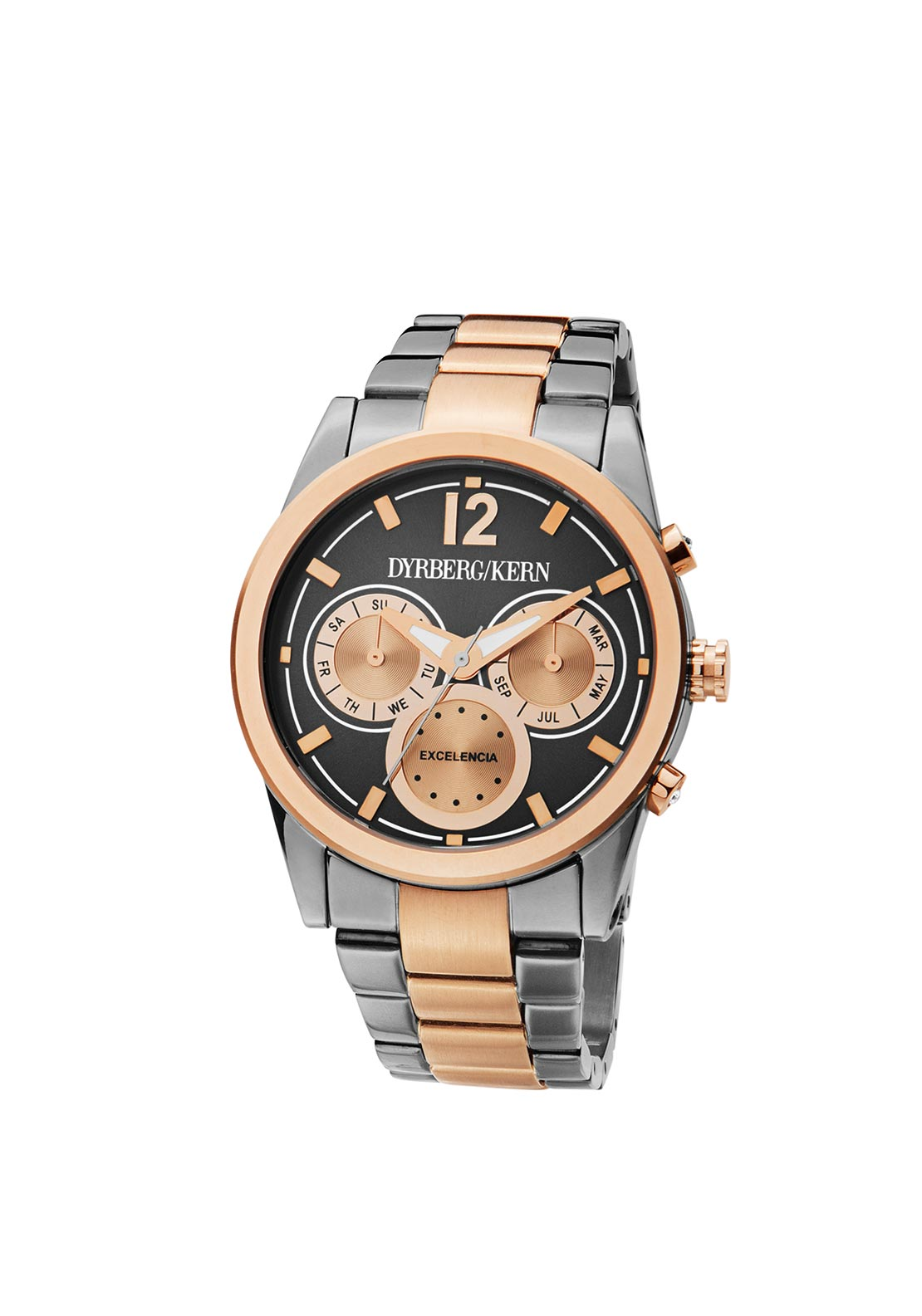 Dyrberg Kern Exelencia SM Watch, Rose Gold