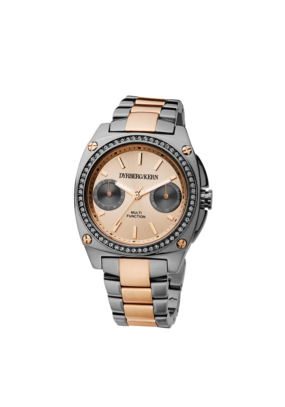 Dyrberg Kern Satinelle SMC Watch, Rose Gold