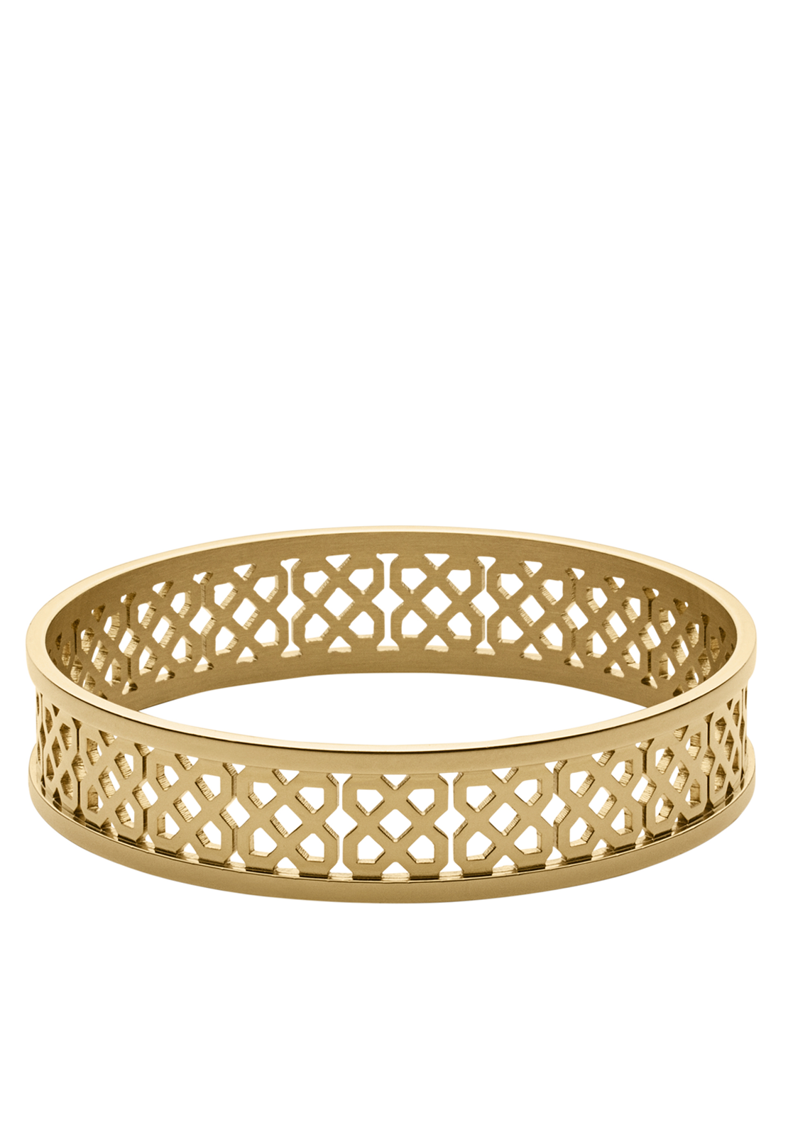 Dyrberg Kern Rinah Shiny Gold Plated Bangle, Gold