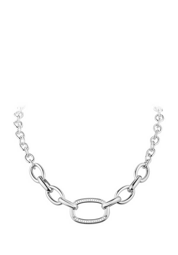 Dyrberg Kern Womens Cily Necklace, Silver
