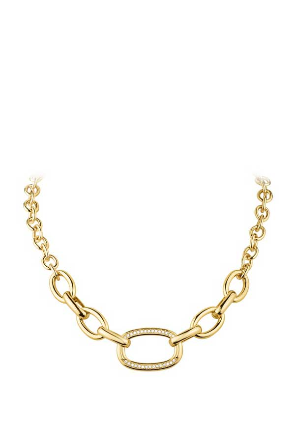 Dyrberg Kern Womens Cily Necklace, Gold