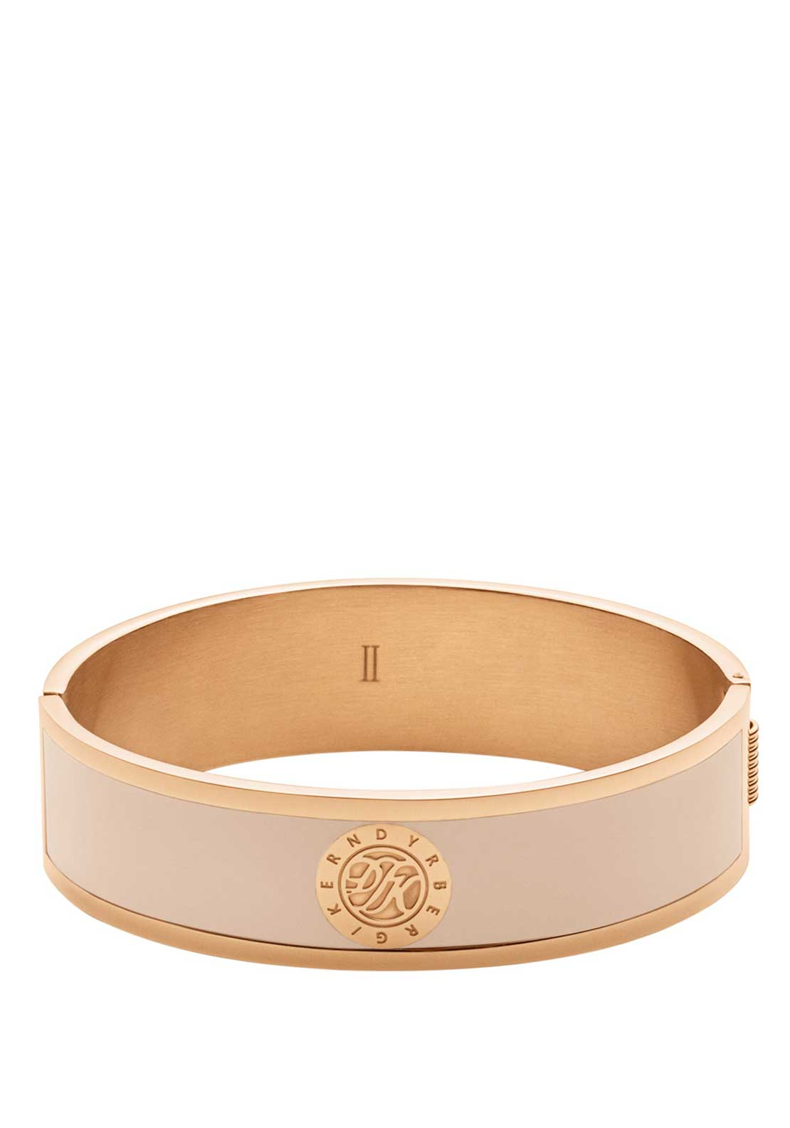 Dyrberg Kern Jovika Cream Bangle, Medium