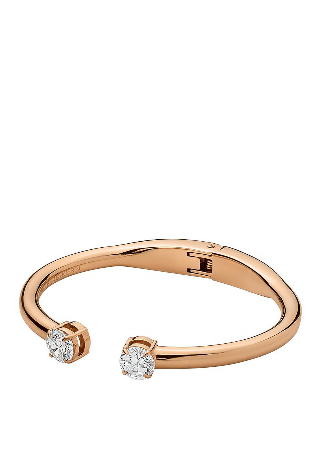 Dyrberg Kern Radia Bangle, Rose Gold