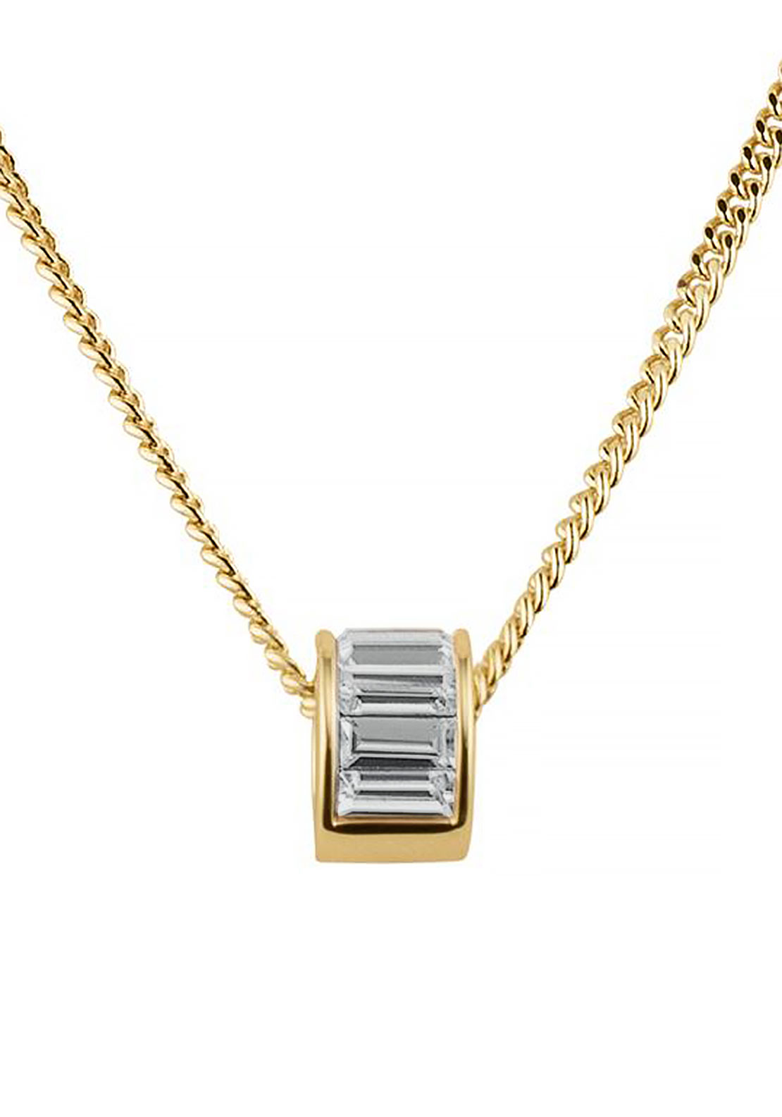 Dyrberg Kern Pilota Necklace, Gold