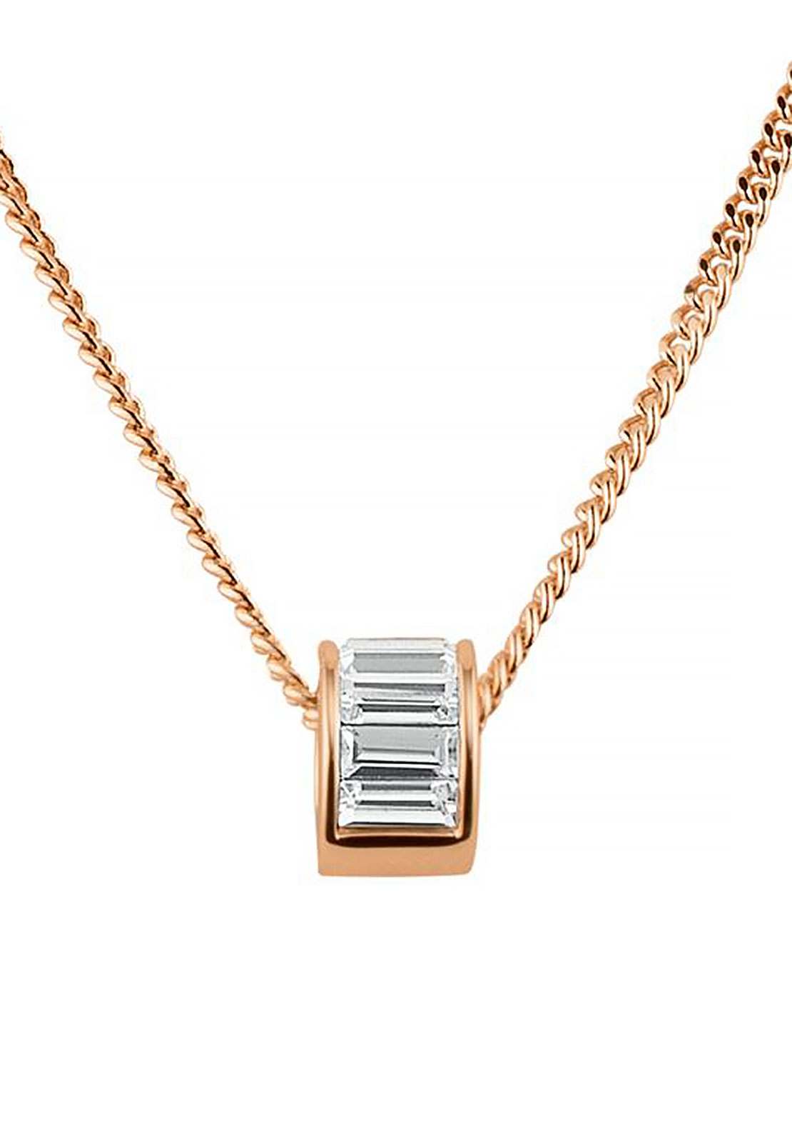 Dyrberg Kern Pilota Necklace, Rose Gold
