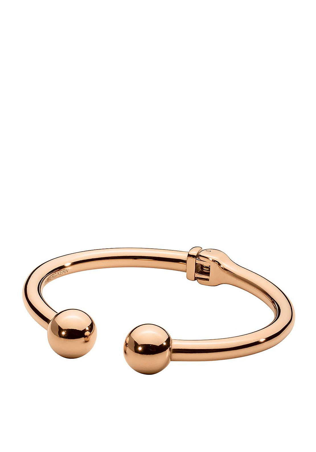 Dyrberg Kern Twiggy Bangle, Rose Gold