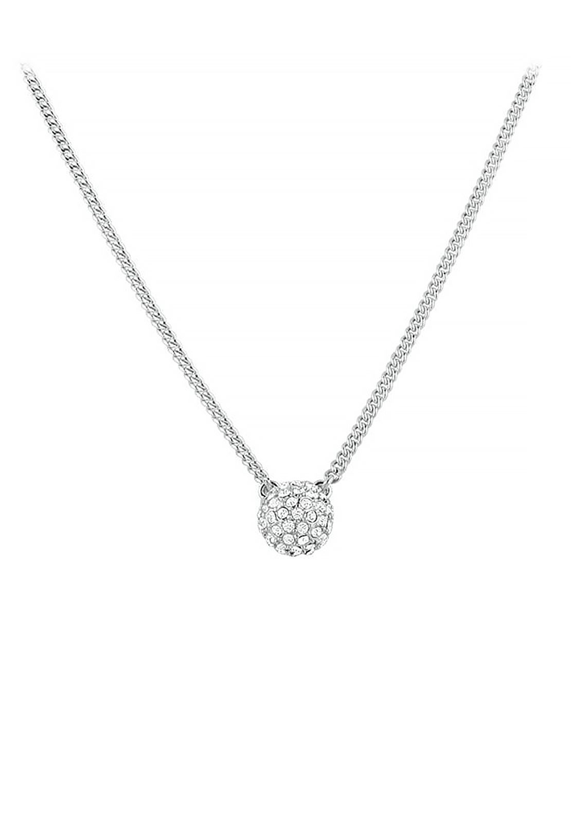 Dyrberg Kern Fiuma Chain Necklace, Silver