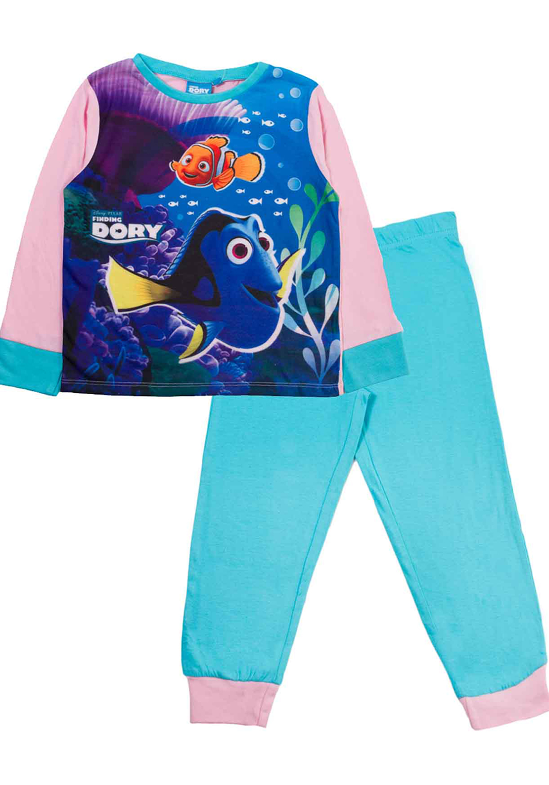 Finding Dory Girls Pyjamas, Multi-Coloured