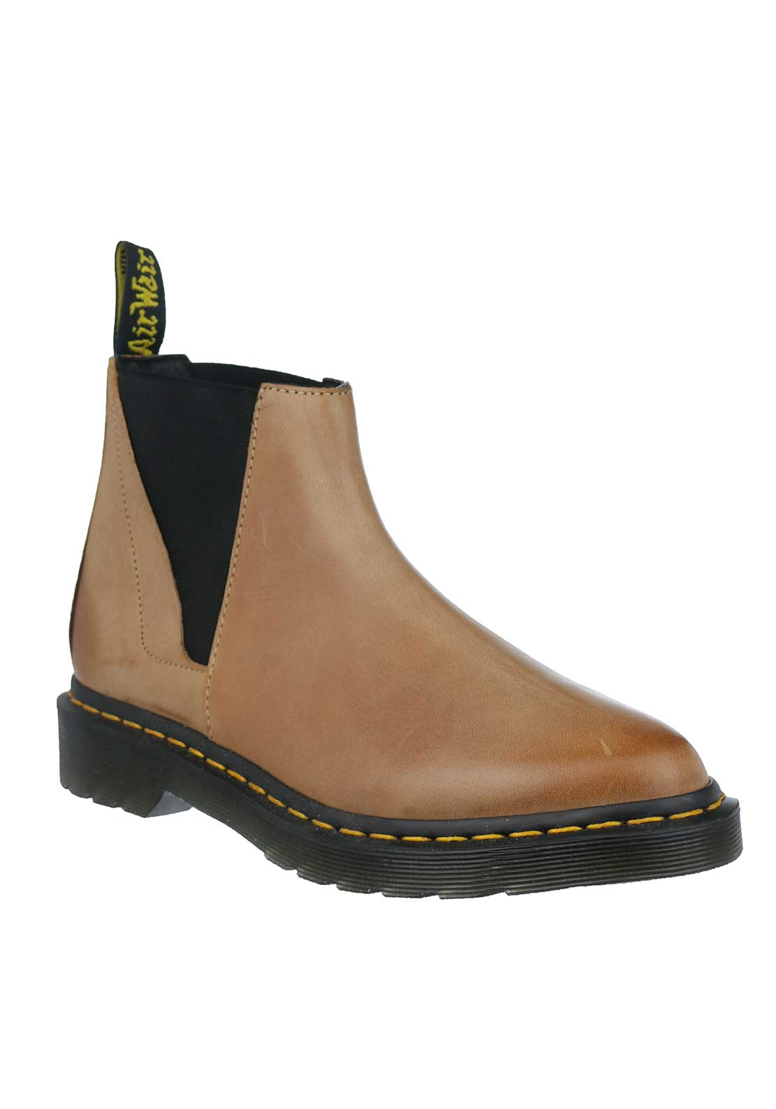 Dr. Martens Womens Bianca Leather Boots, Brown