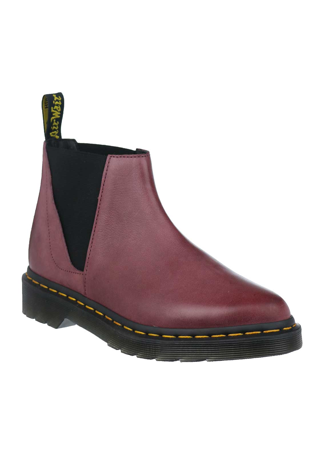 Dr. Martens Womens Bianca Leather Boots, Wine