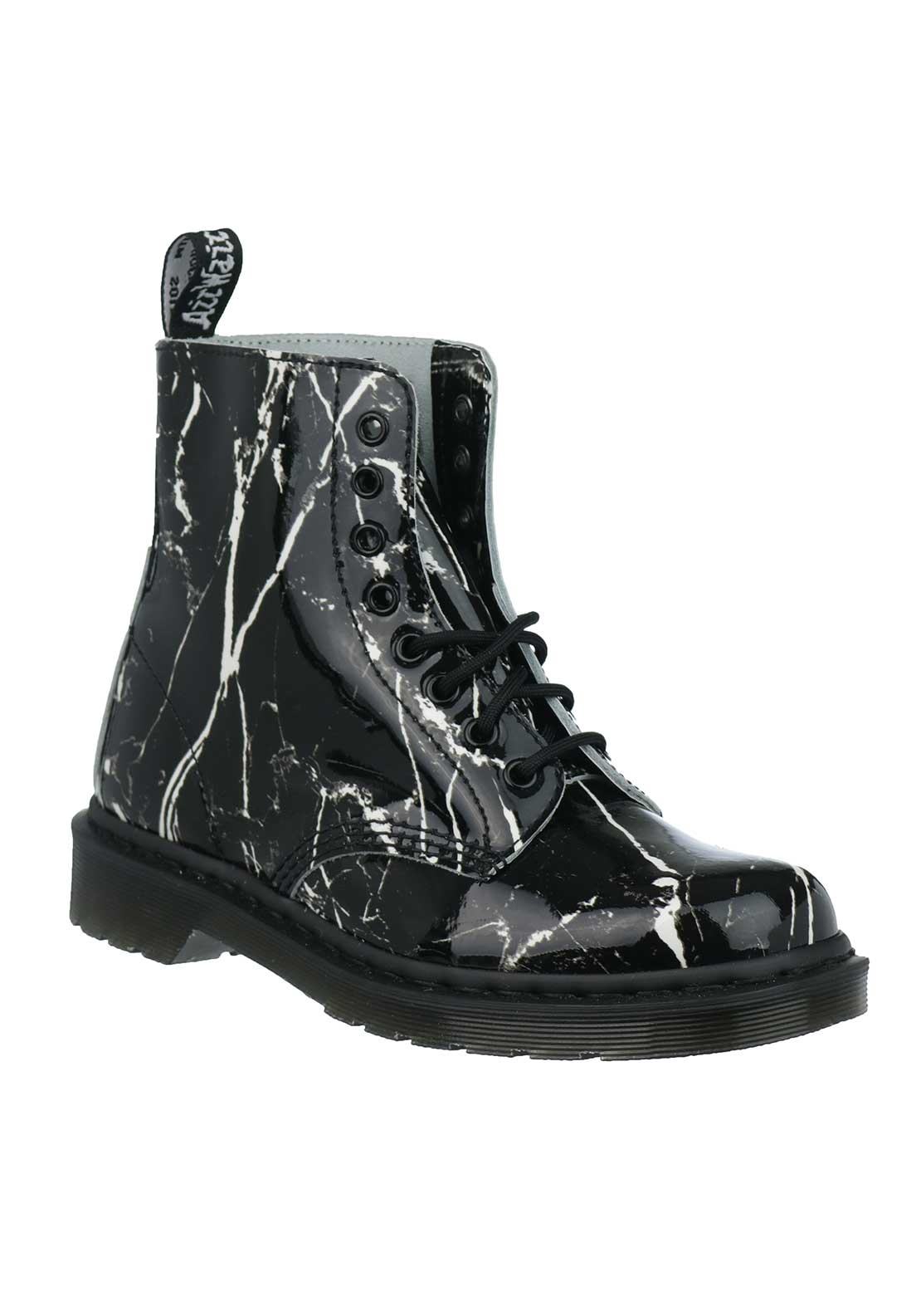 Dr. Martens Womens Pascal Leather Boots, Marble
