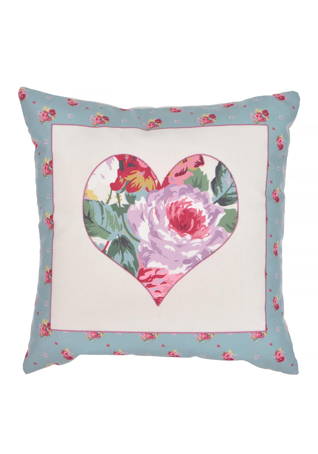 Dreams & Drapes Camberley Cushion, Cream 43x43cms