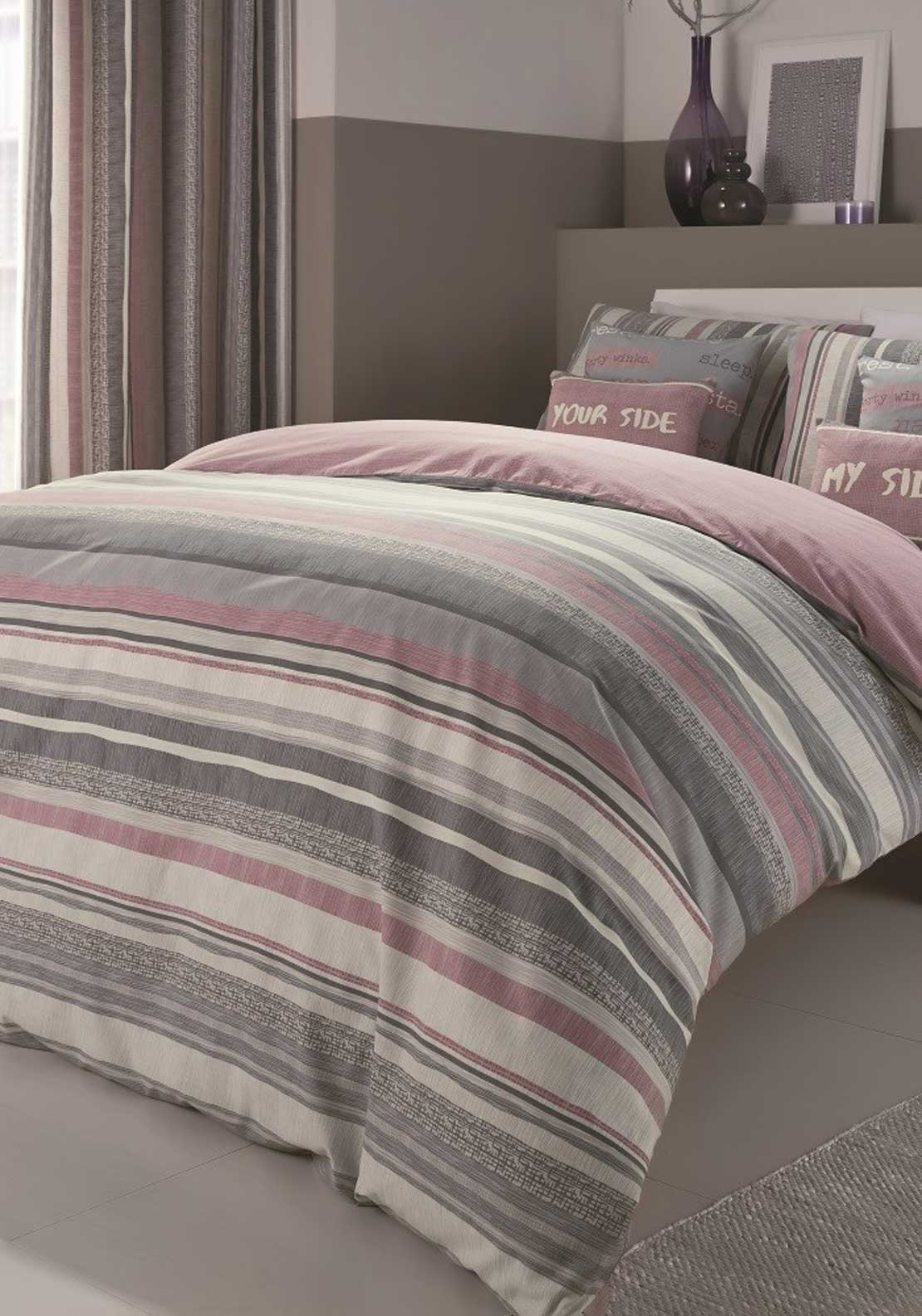 Dreams & Drapes Dexter Duvet Cover Set, Lilac