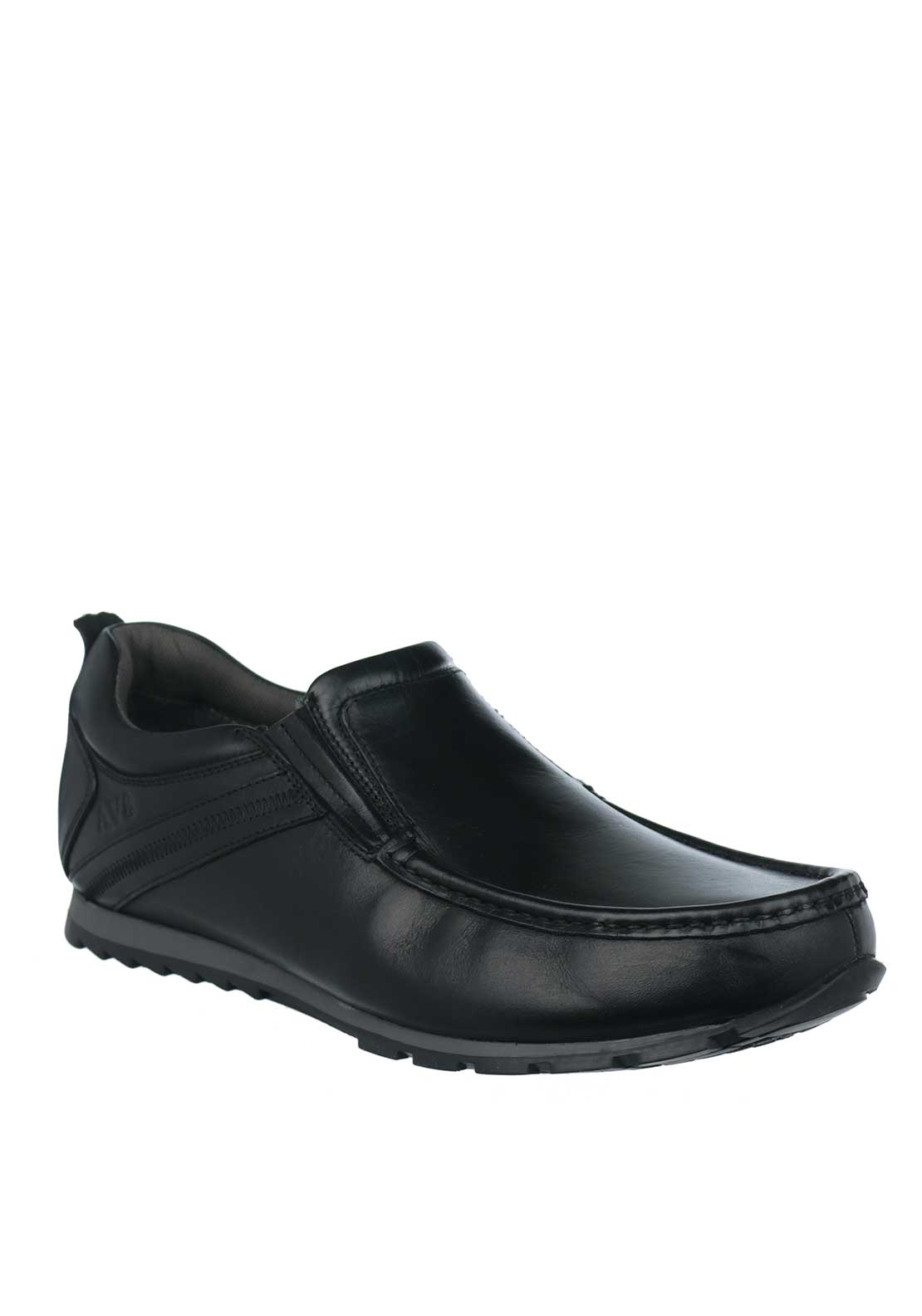 Dubarry Kobe Leather Loafer Shoes, Black