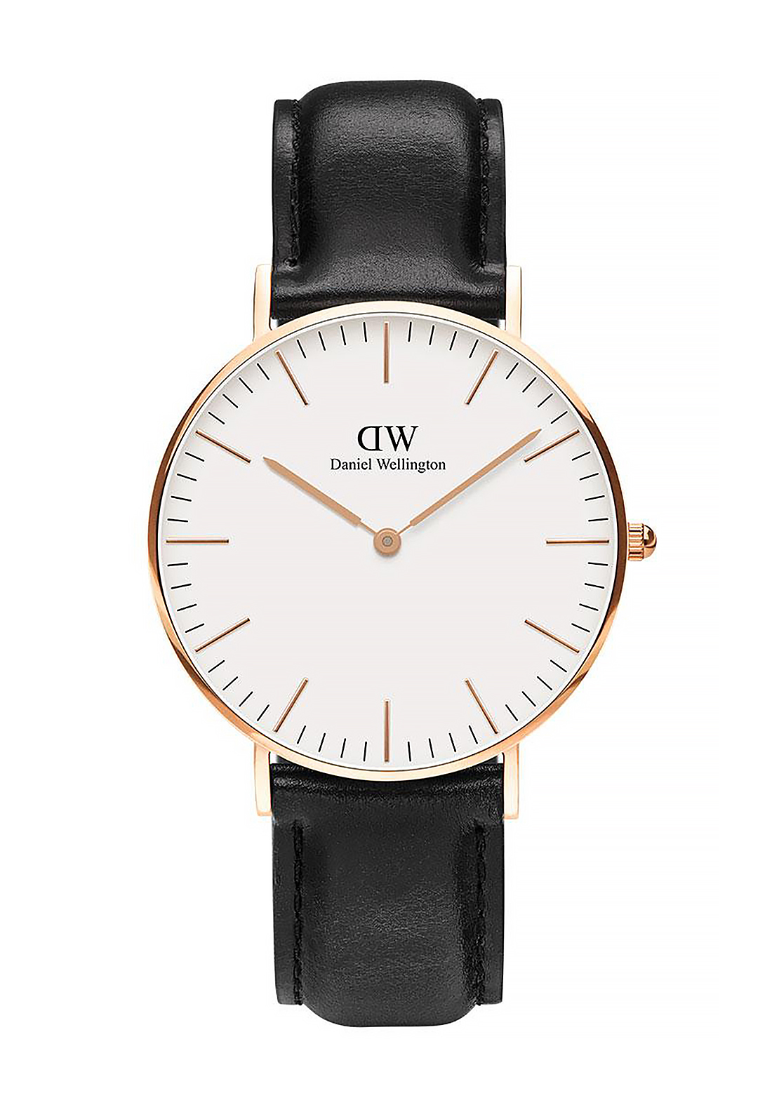 Daniel Wellington Classic Sheffield Watch 36mm Rose Gold, Black