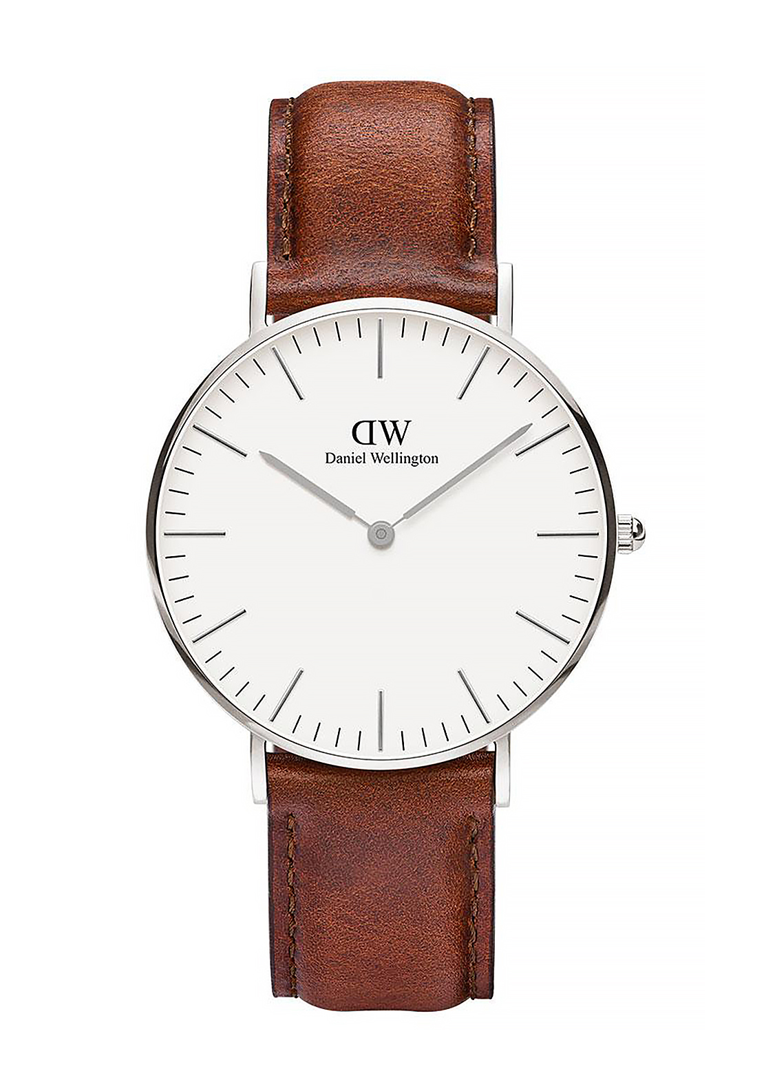 Daniel Wellington Classic St Mawes Watch 36mm Silver, Brown