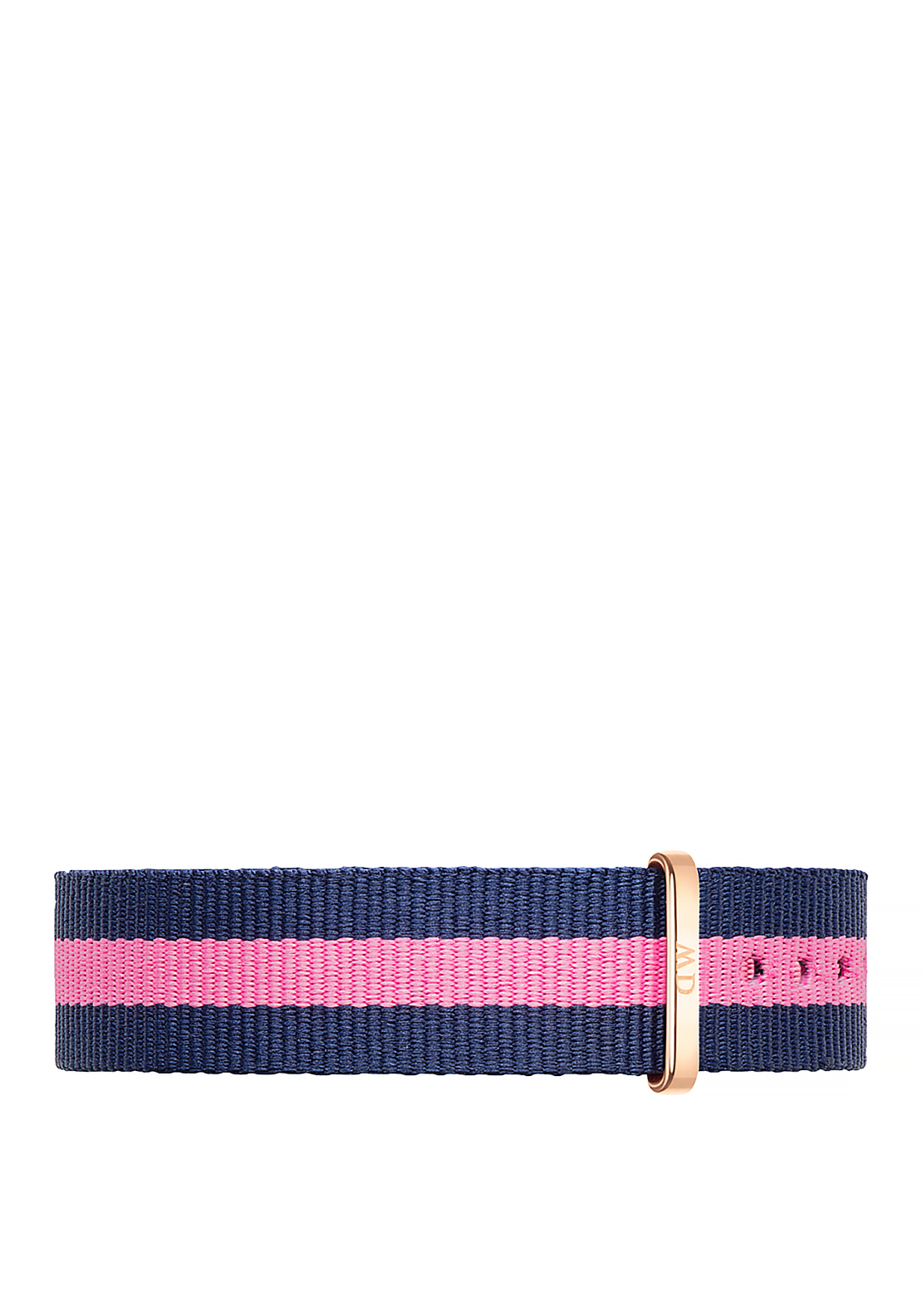 Daniel Wellington Classic Winchester Wristband Strap 18mm Rose Gold, Pink & Navy