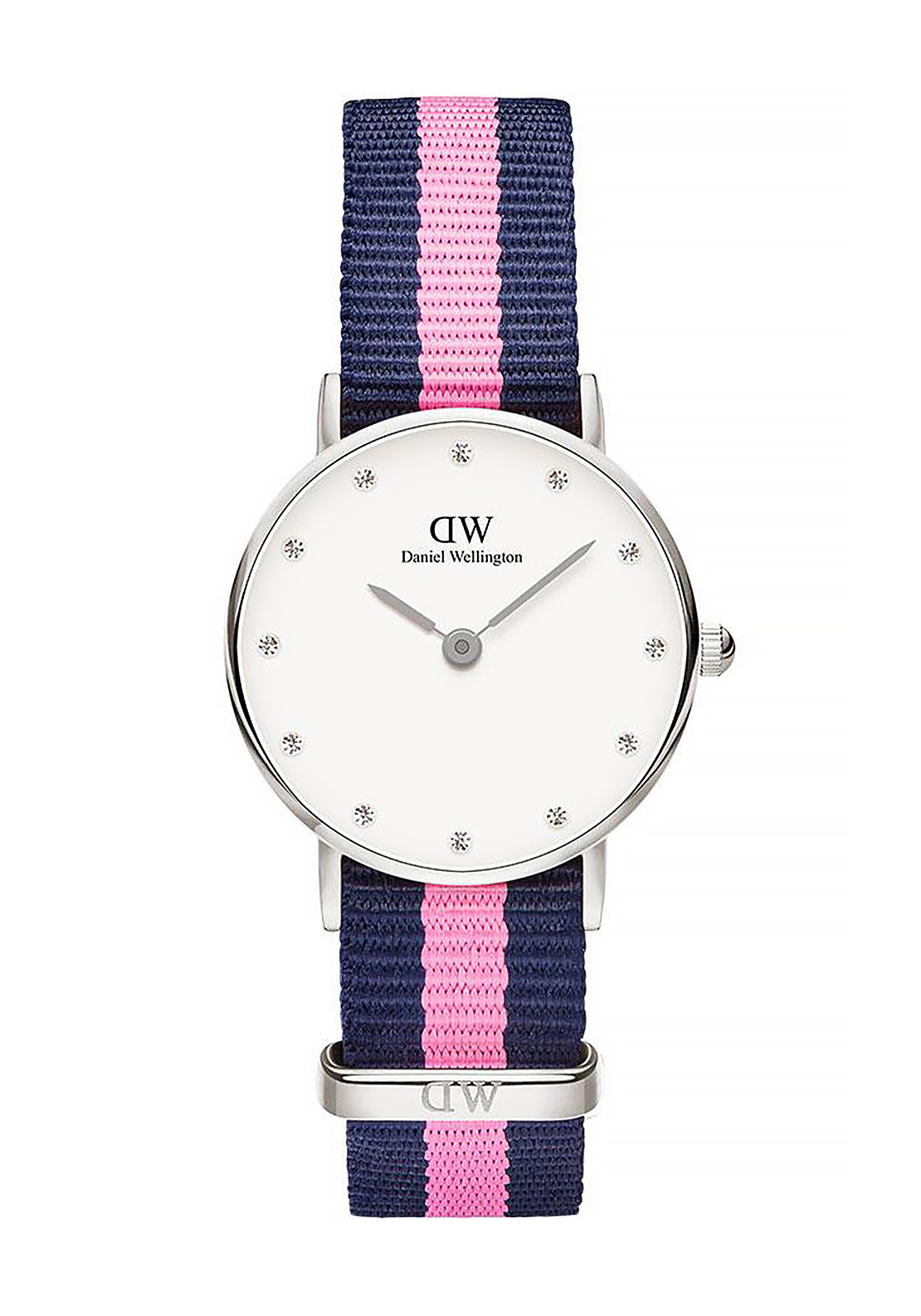 Daniel Wellington Classy Winchester Watch 26mm Silver, Pink & Navy