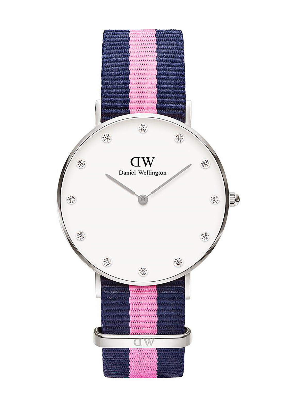 Daniel Wellington Classy Winchester Watch 34mm Silver, Pink & Navy