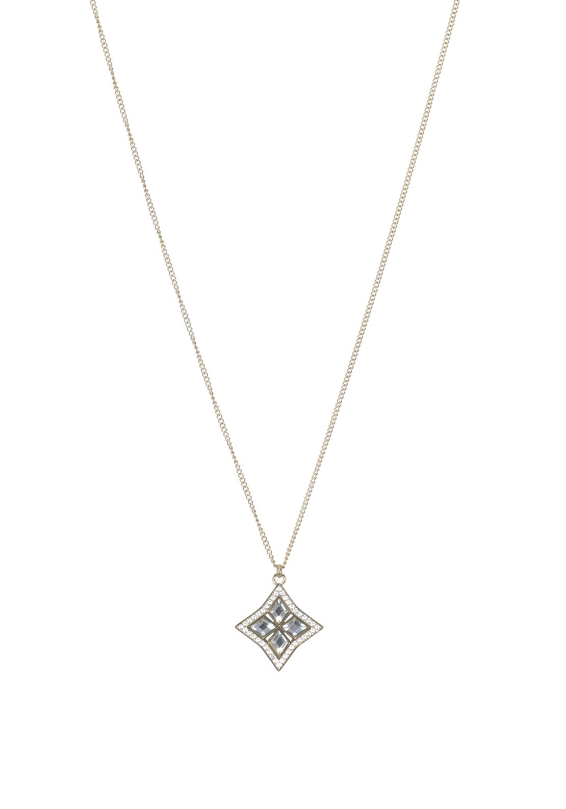 Dyrberg Kern Adeli Crystal Necklace Gold