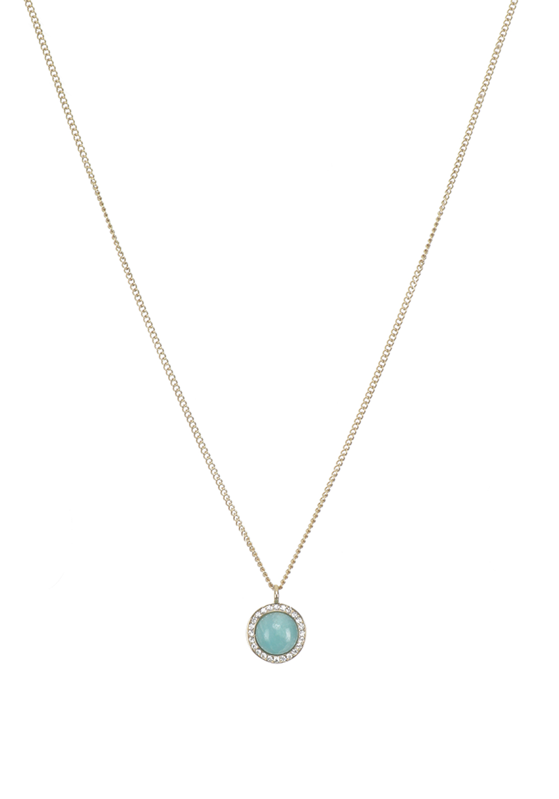 Dyrberg Kern Atlantian Necklace Light Green