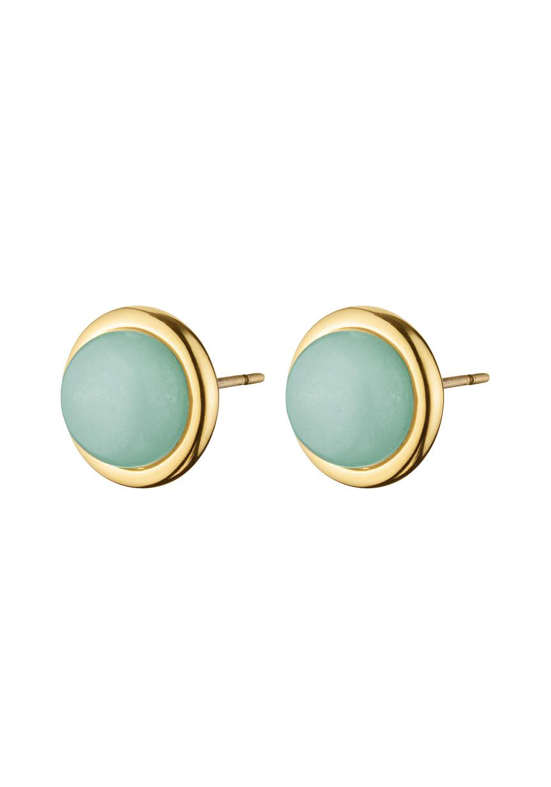 Dyrberg Kern Fina Gemstone Stud Earrings, Green