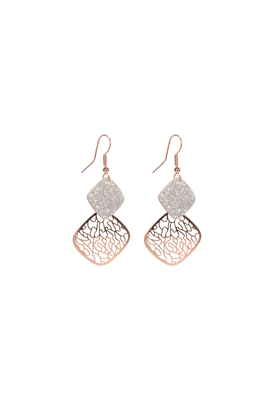 Absolute Jewellery Layered Drop Earrings