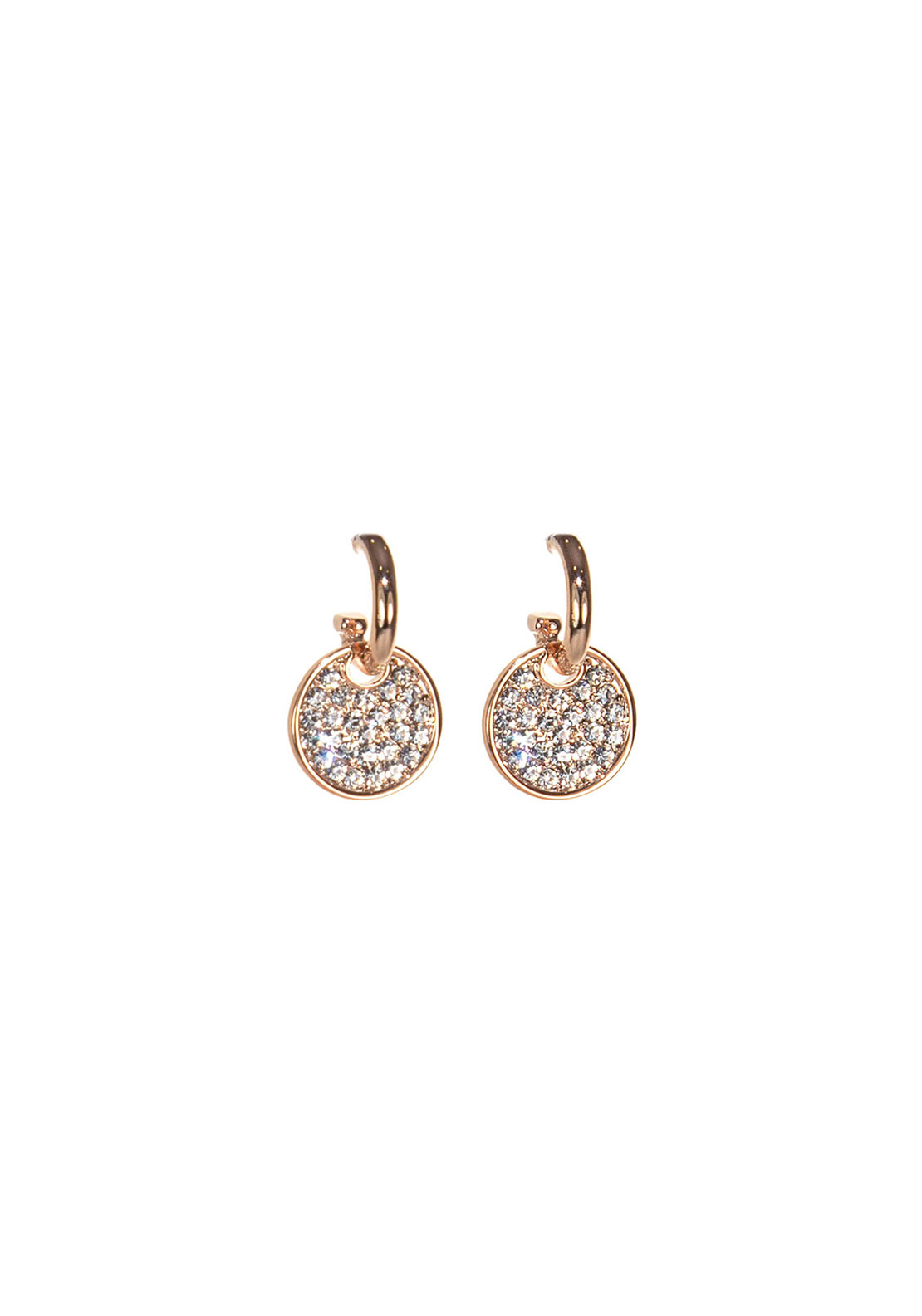Absolute Jewellery Pave Drop Earrings