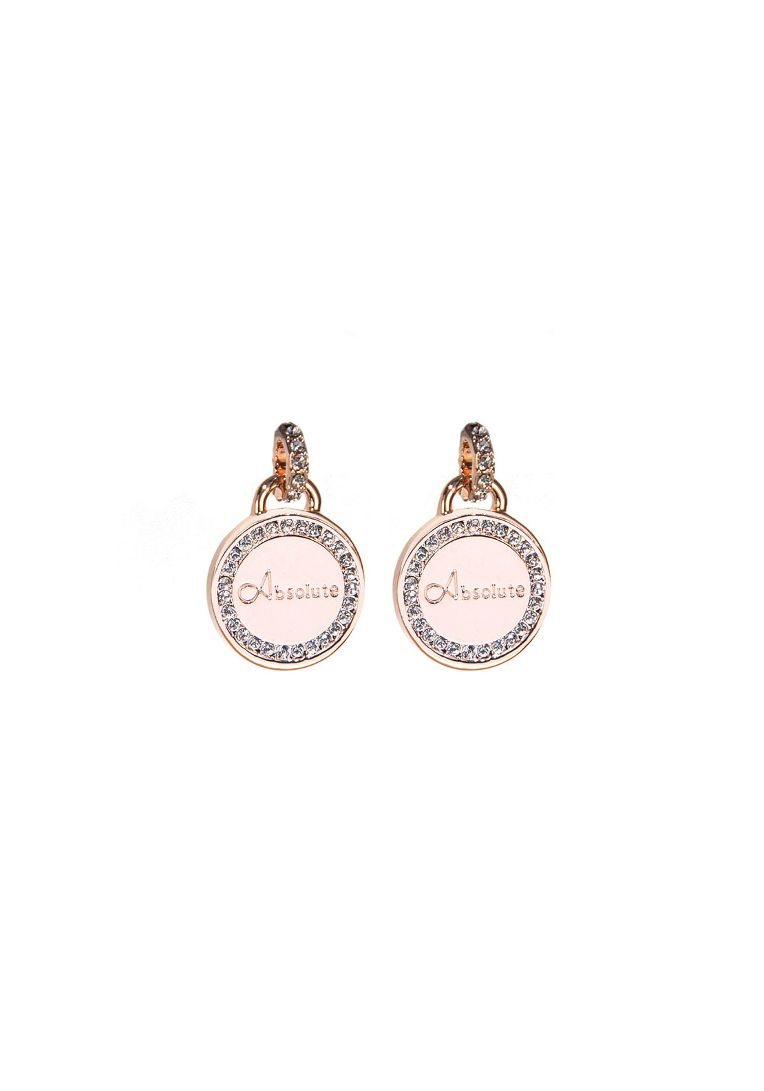Absolute Jewellery Branded Drop Earrings