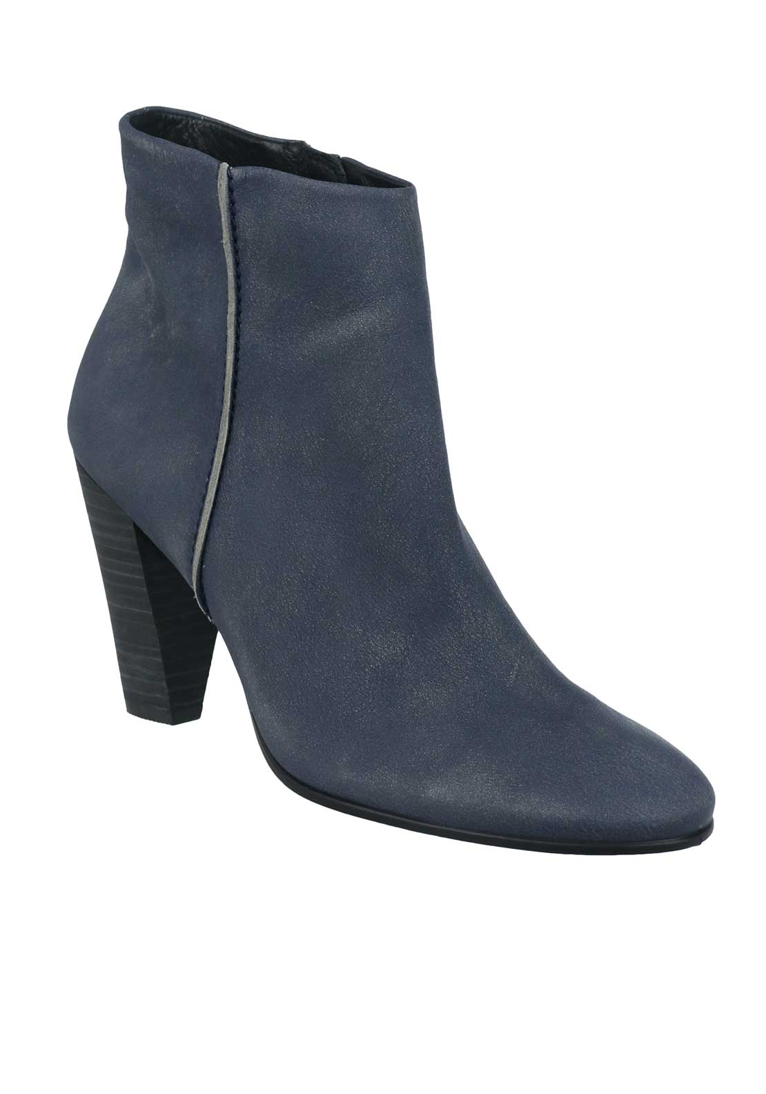 Ecco Womens Shape 75 Ankle Boot, Navy