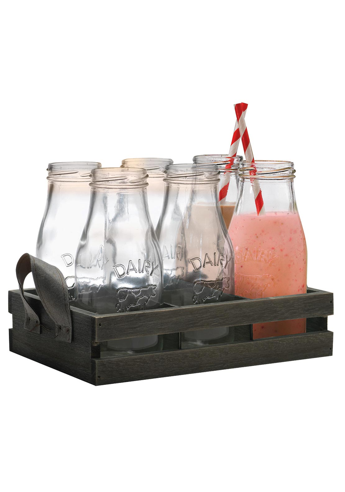 Eddingtons Country Milk Bottles Set, 13 piece