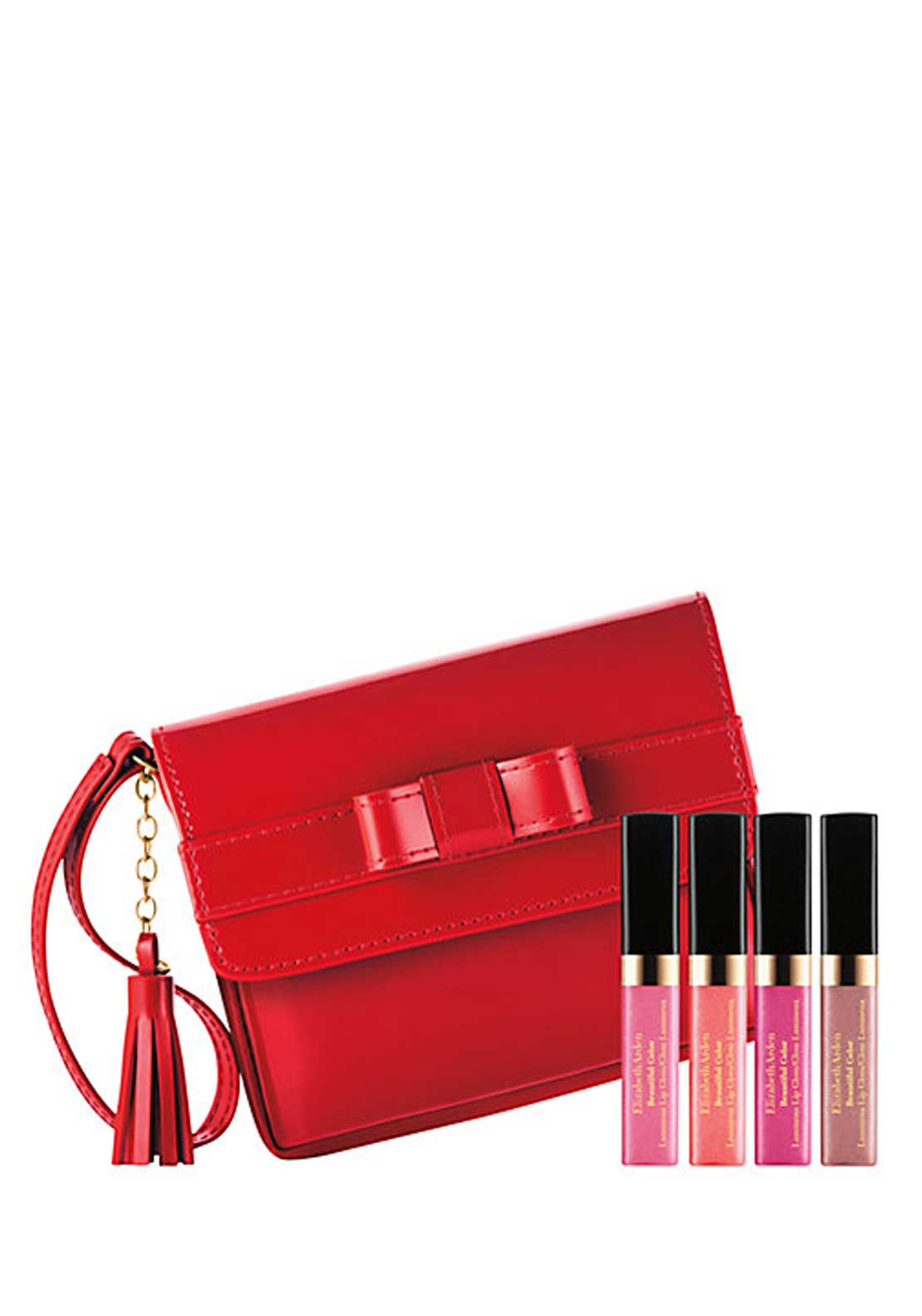 Elizabeth Arden Beautiful Colour Lip Gloss Gift Set, Set of 4