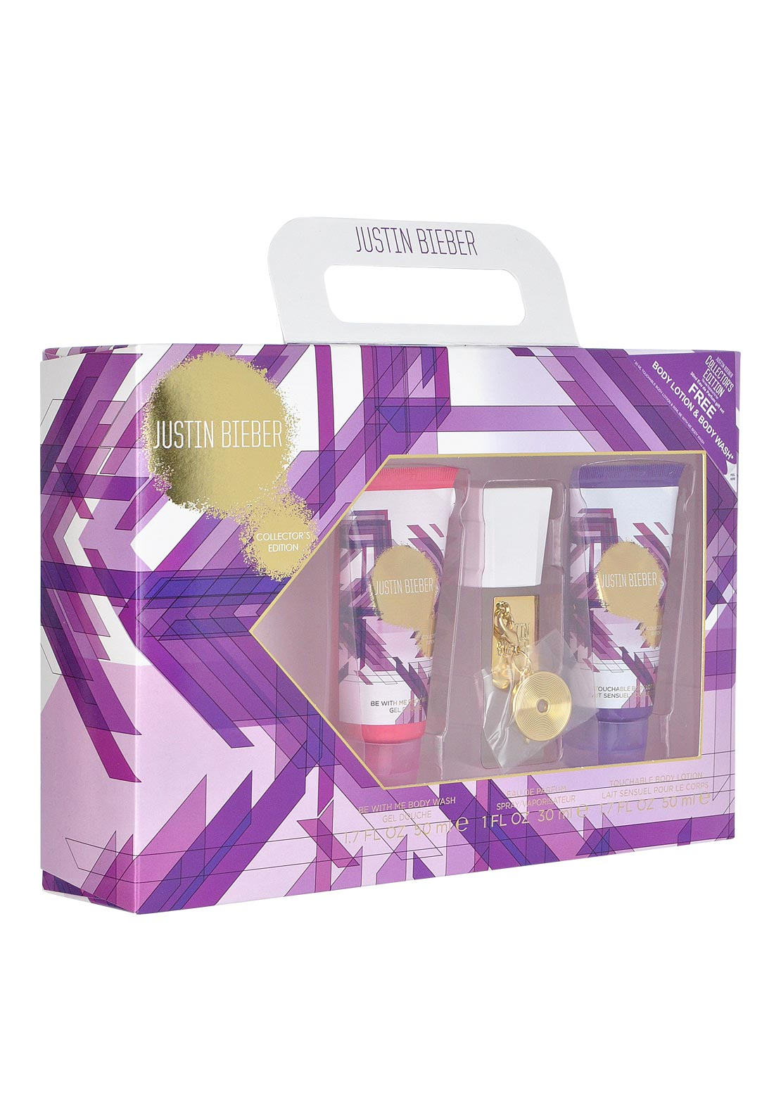 Justin Bieber Be With Me Eau De Parfum Gift Set for Women, 30ml