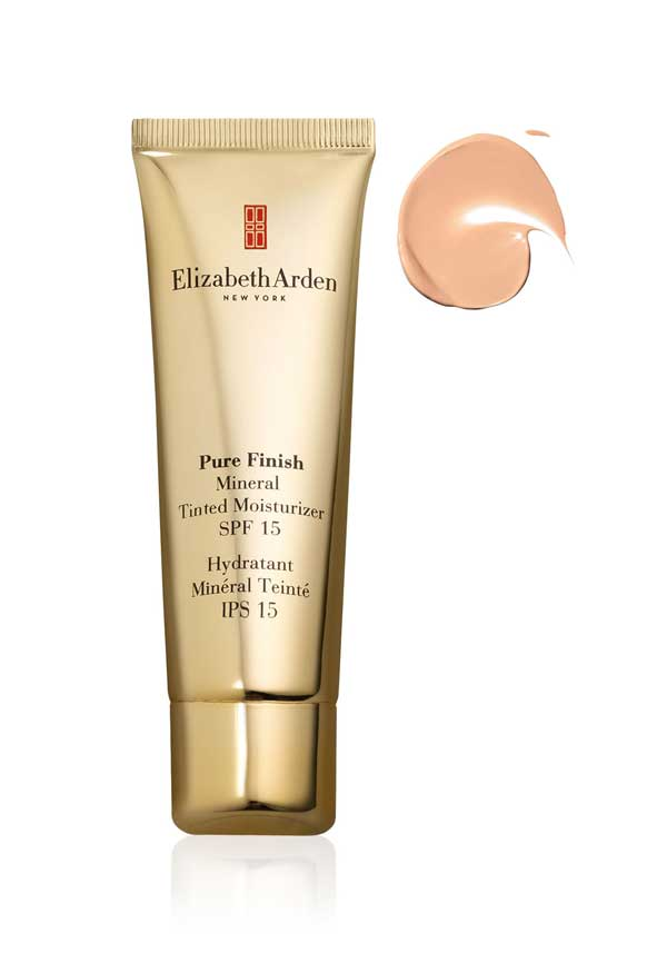 Elizabeth Arden Pure Finish Mineral Tinted Moisturiser SPF 15, Light 02