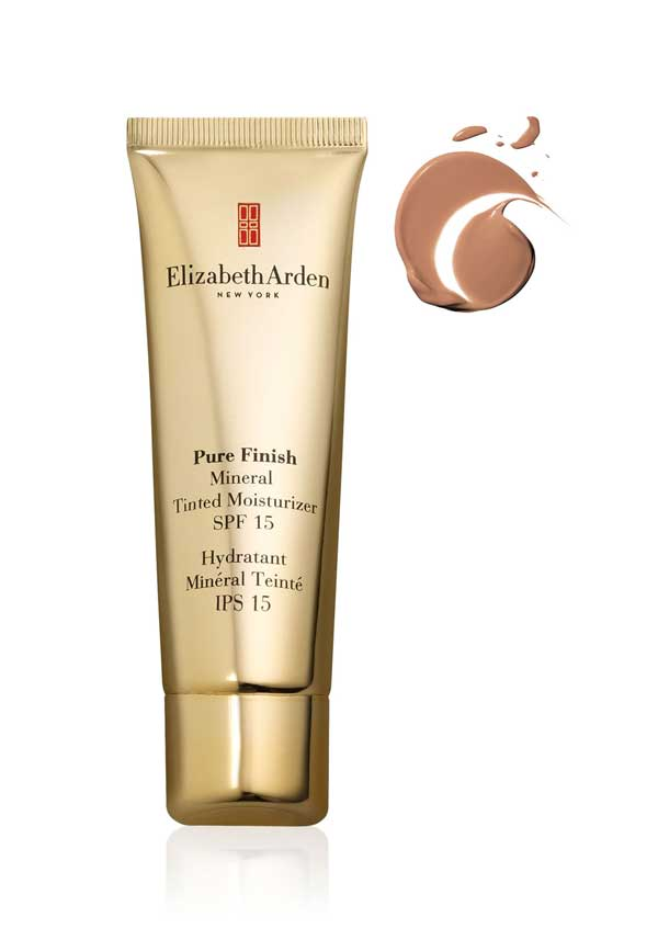 Elizabeth Arden Pure Finish Mineral Tinted Moisturiser SPF 15, Medium 03