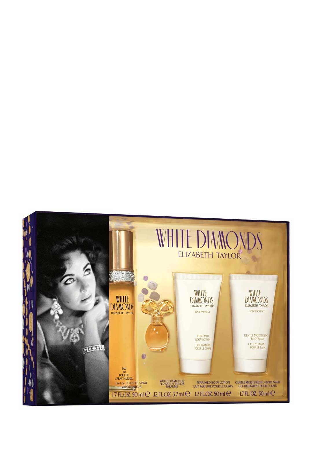 Elizabeth Taylor White Diamonds Gift Set, 50ml