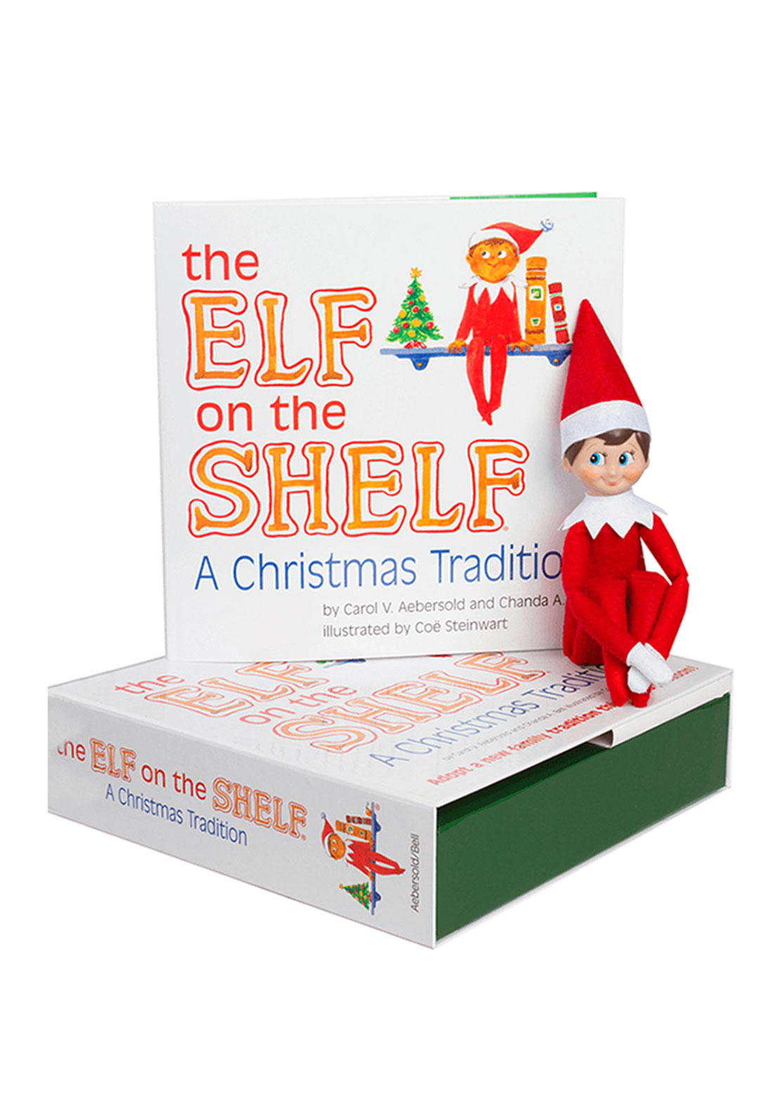The Elf on the Shelf Story Book & Girl Elf