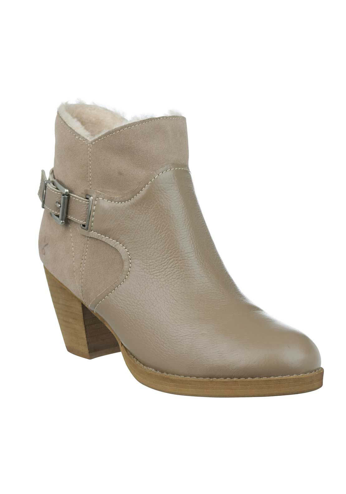 EMU Australia Sturt Leather Ankle Boots, Taupe