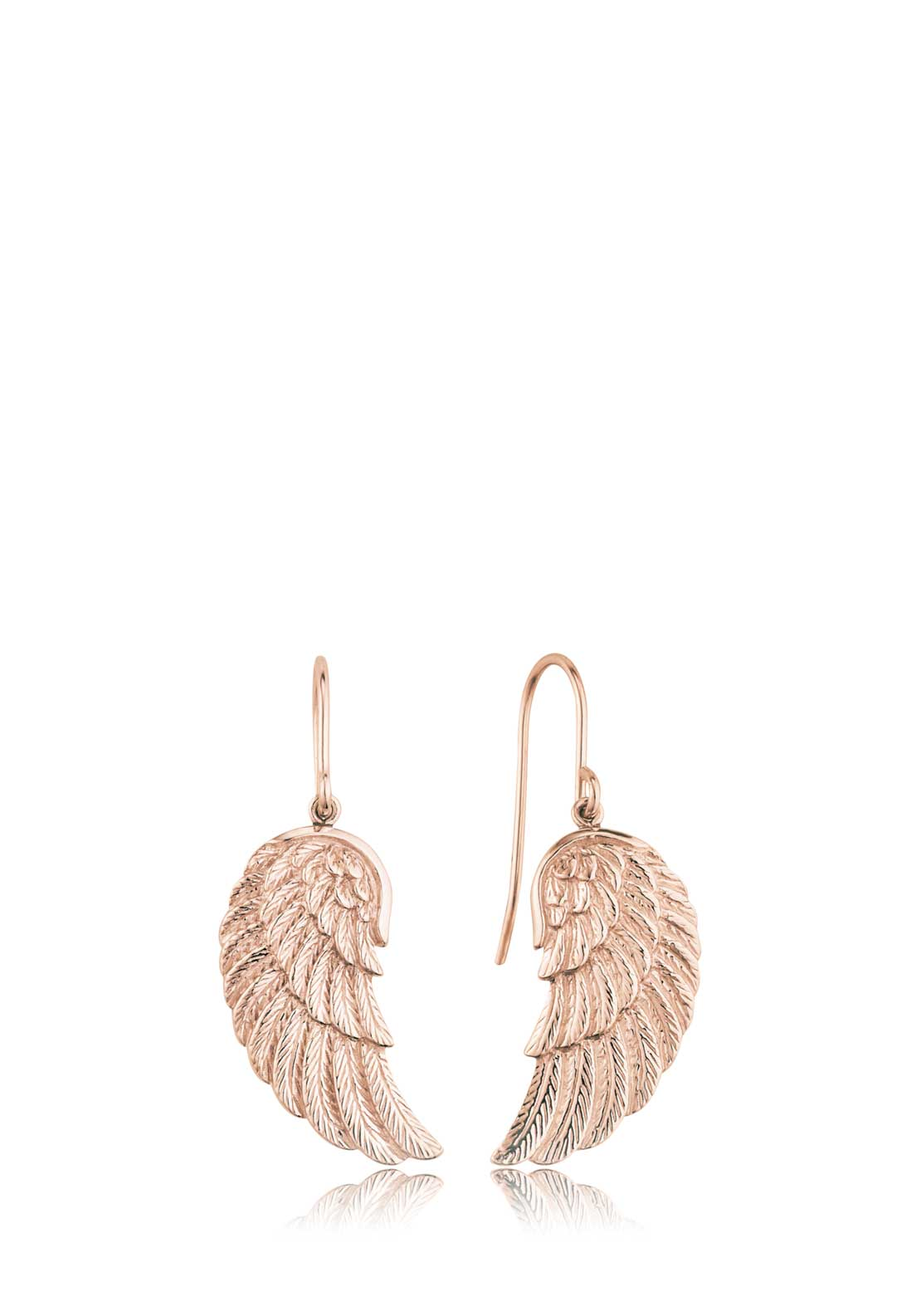 Engelsrufer Wing Earrings, Rose Gold