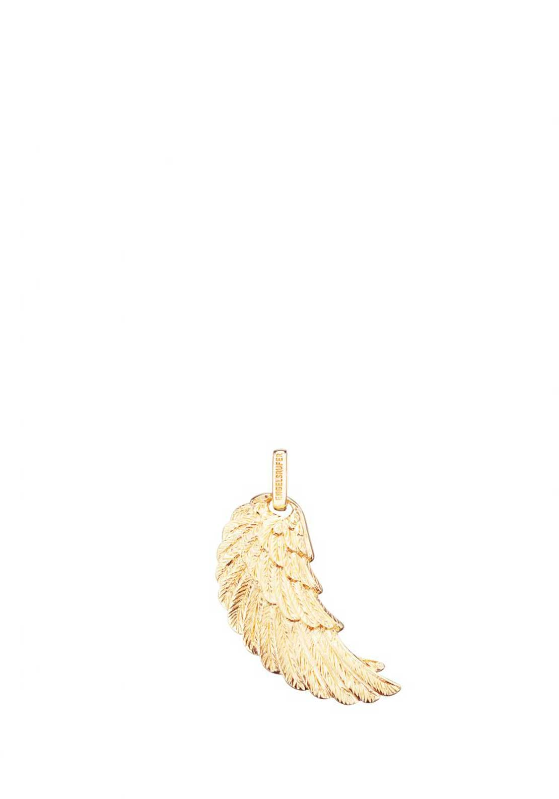 Engelsrufer Large Angel Wing Pendant, Gold