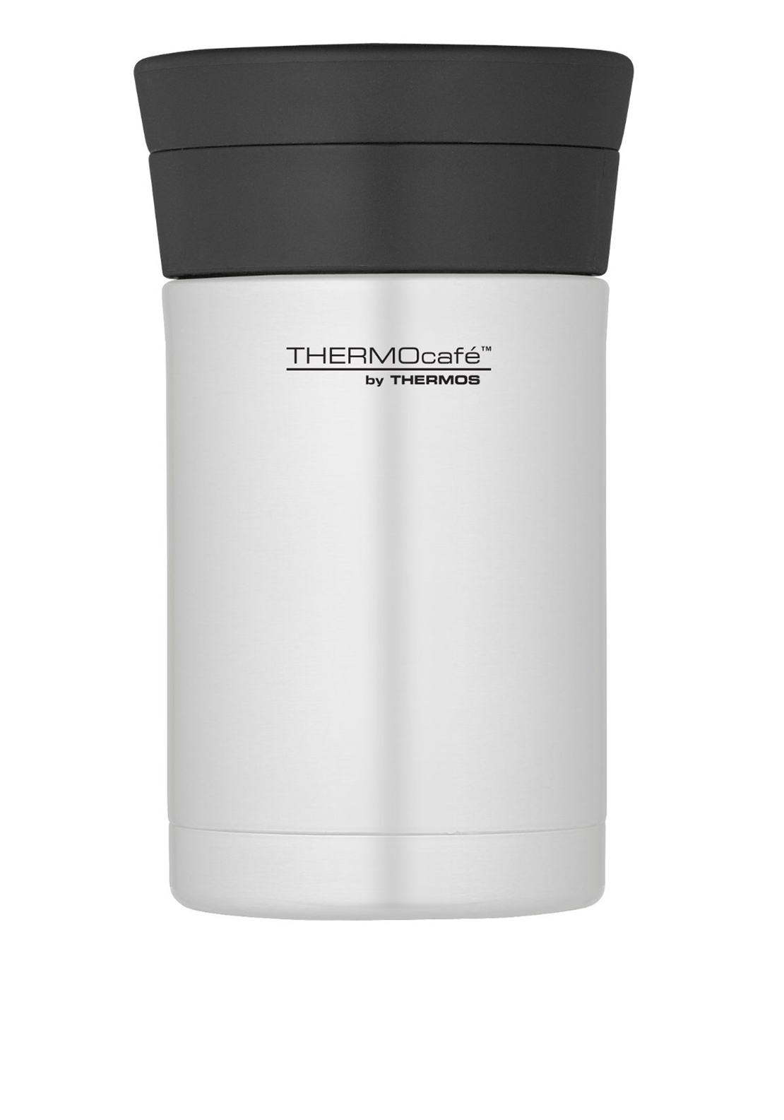 Thermocafe by Thermos Stainless Vacuum Insulated Food Flask, 0.5L