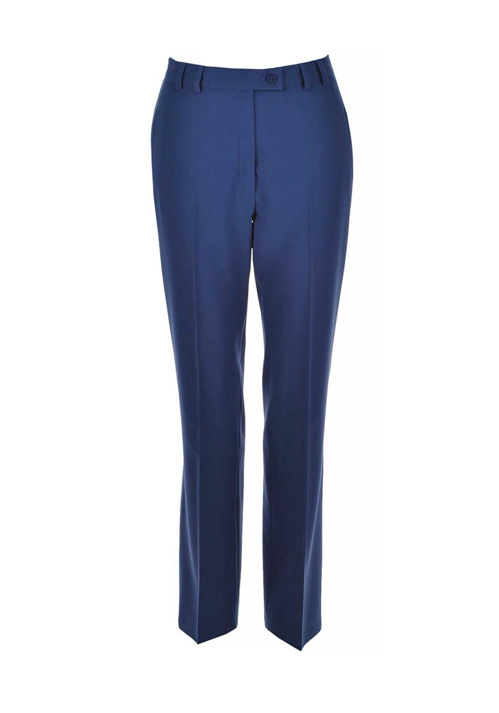 Eugen Klein Slim Leg Trousers, Blue