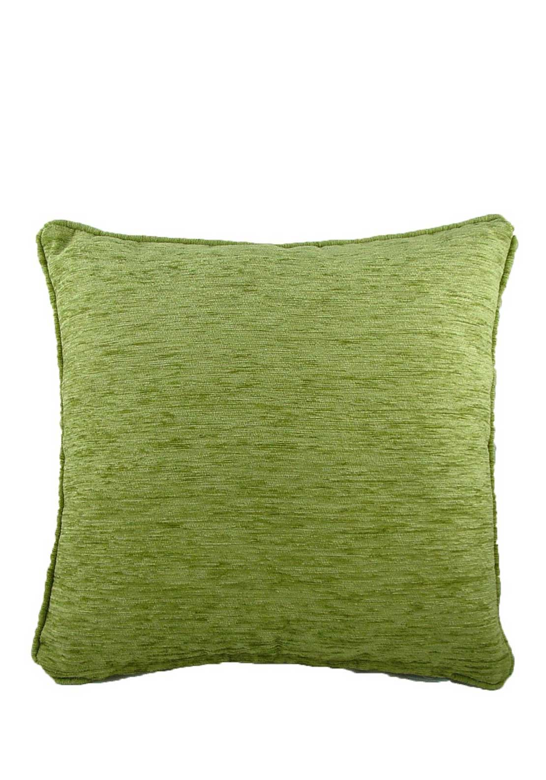 Savannah Chenille Cushion, 43 x 43cm, Sage