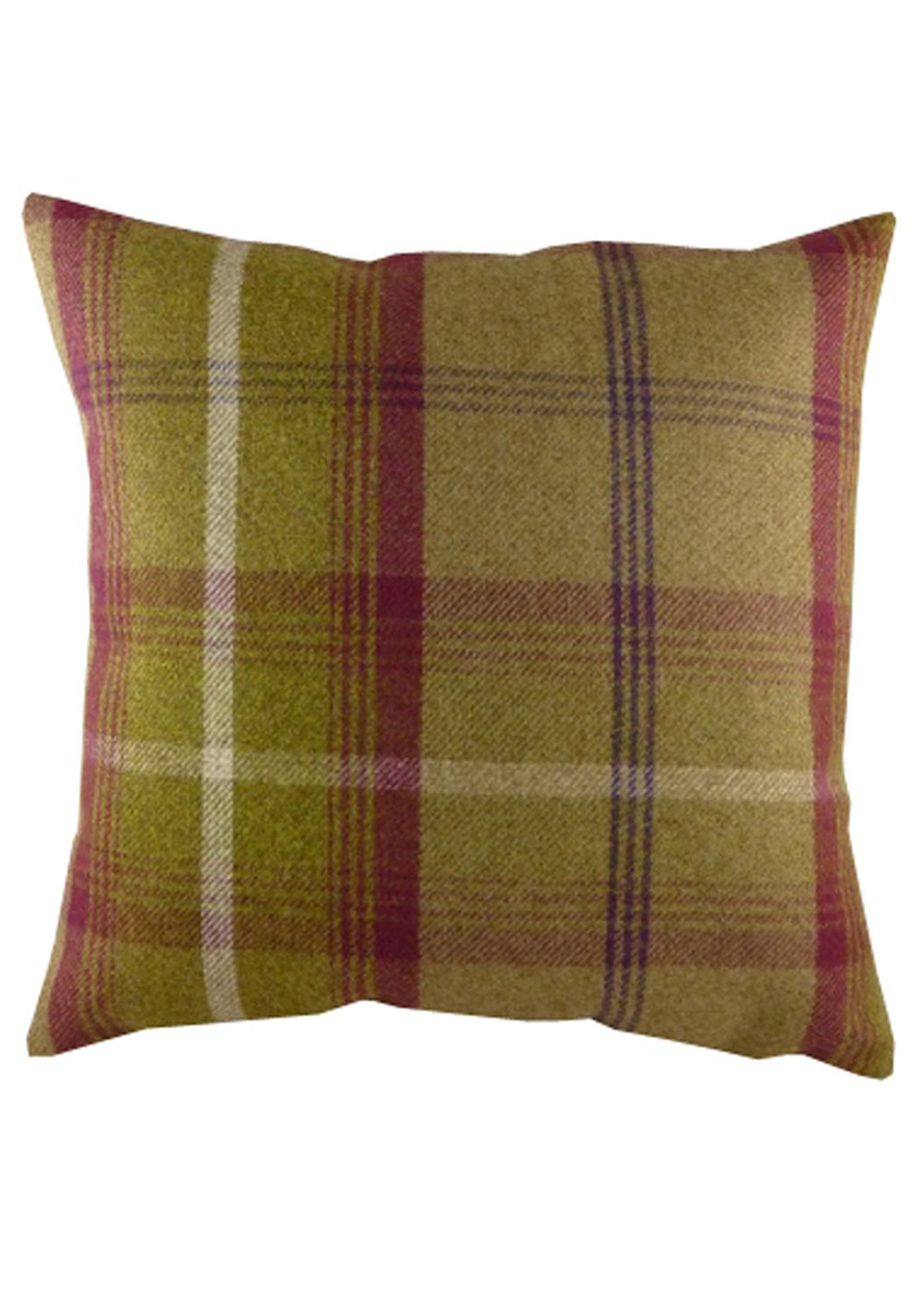 Evans Balmoral Autumn Filled Cushion, 42 x 42cm Heather