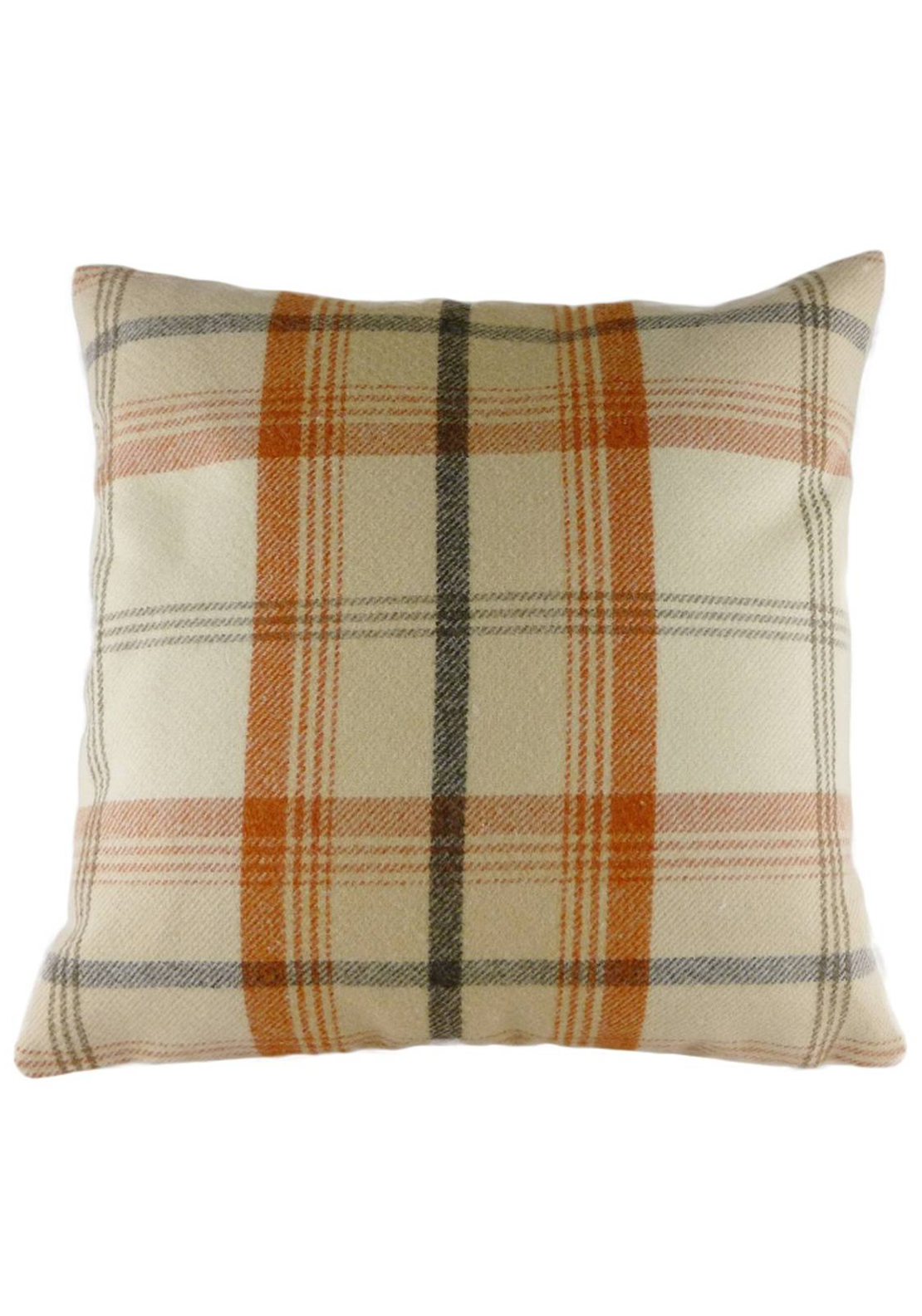 Evans Balmoral Autumn Filled Cushion, 42 x 42cm Cream Multi